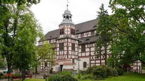 Die Friedenskirche in Jauer (Jawor)