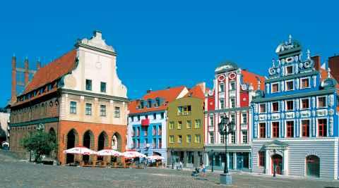 Marktplatz von Stettin