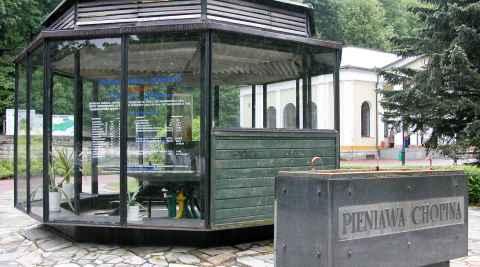 Heilquelle Chopin in Bad Reinerz (Duszniki Zdrój)