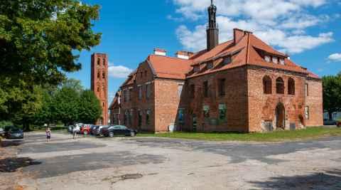 Rathaus von Mehlsack (Pieniężno)