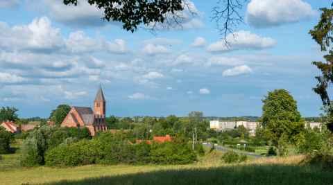 Kirche des hl. Andreas Bobola in Dubeningken (Dubeninki)
