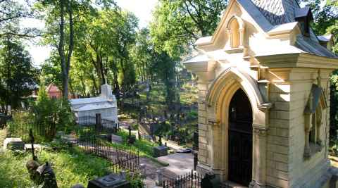 Kapelle auf dem Friedhof Rasos in Vilnius