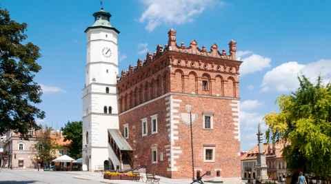 Rathaus von Sandomierz