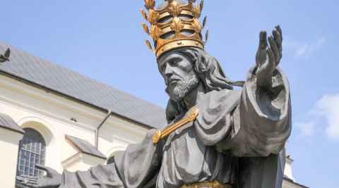 Jesusfigur auf dem Jasna Góra in Tschenstochau (Częstochowa)