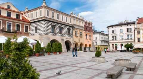 Renaissancehaus auf Marktplatz von Tarnów