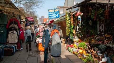 Polenmarkt in Swinemünde